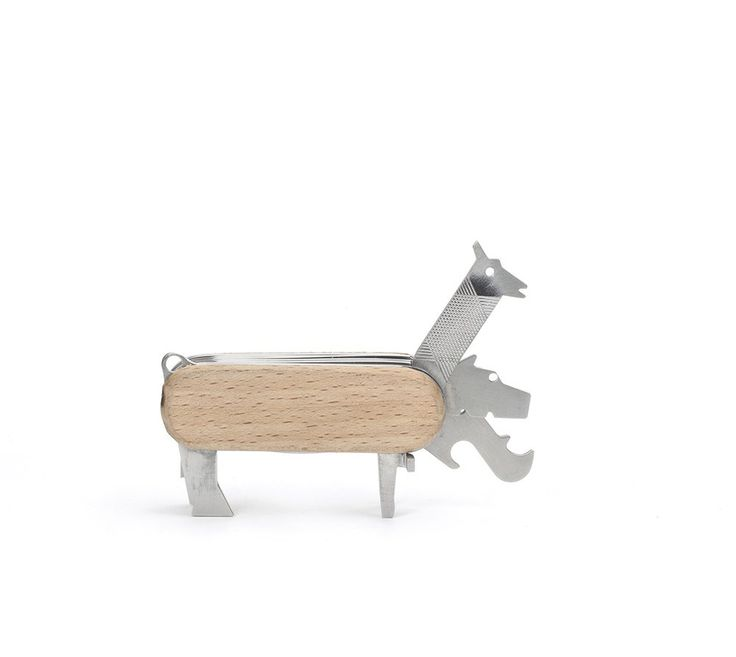Seven In One Animal Multi Function Tool - Wood