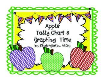 Apple Tally Chart & Graph https://www.teacherspayteachers.com/Product/Apple-Tally-Mark-Graphing-Center-1966040