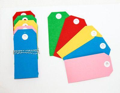 Colourful Tags
