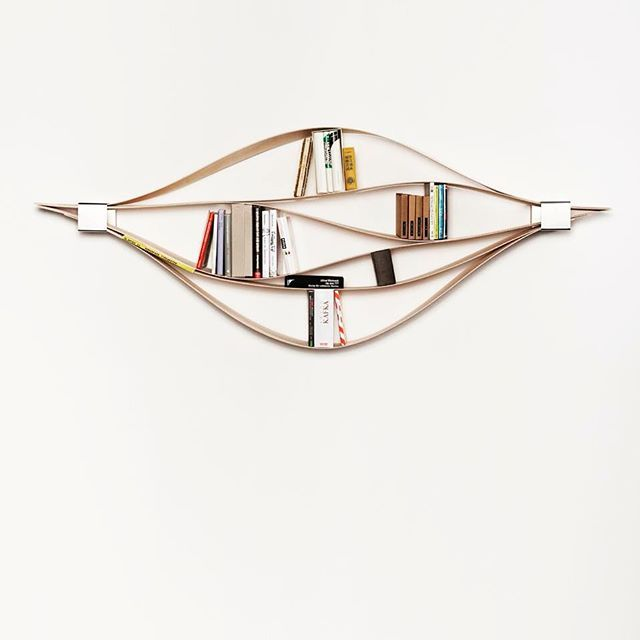 Keep your books in modern order. Designed by @hafriko  #modern #bookshelf #book #wooden #wooddesign #wood #woodart #woodcraft #деревянный #книги #книга #дерево #книжнаяполка #wood_design_ideas
