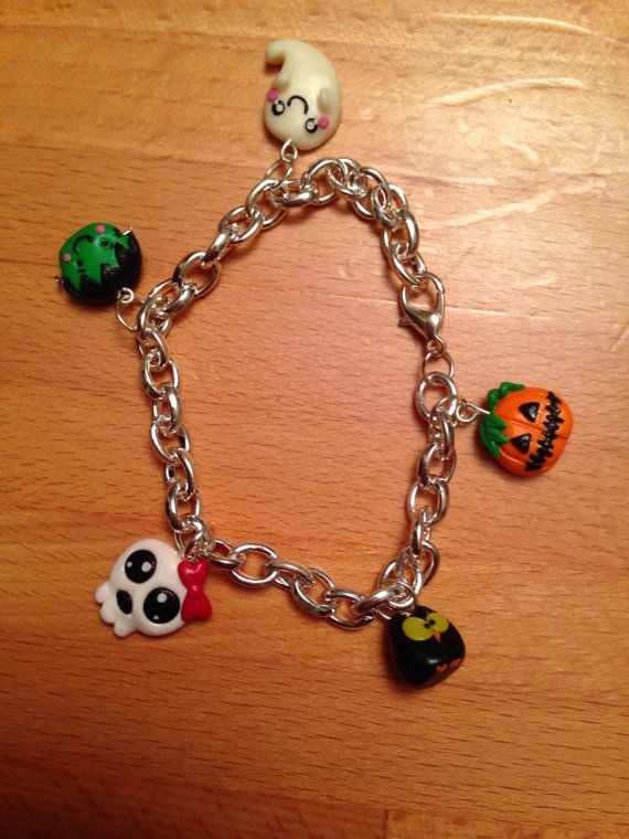 Halloween bracelet on etsy Vally's Lab
