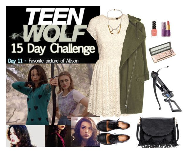 """Teen Wolf Challenge: (11) Favorite picture of Allison"" by vampirliebling ❤ liked on Polyvore"