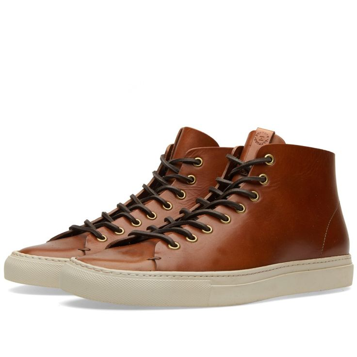 Buttero Tanino Leather Hi-Tops • Selectism | Leather, Men's fashion and  Dapper