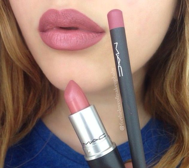 Promise Phan showing the perfect blush pink pout