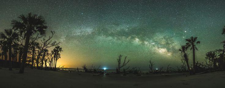 Saint Helena Island Milky Way by sparkyloe