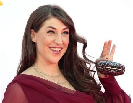 big bang theory | Actress Mayim Bialik, of the comedy series ''The Big Bang Theory ...