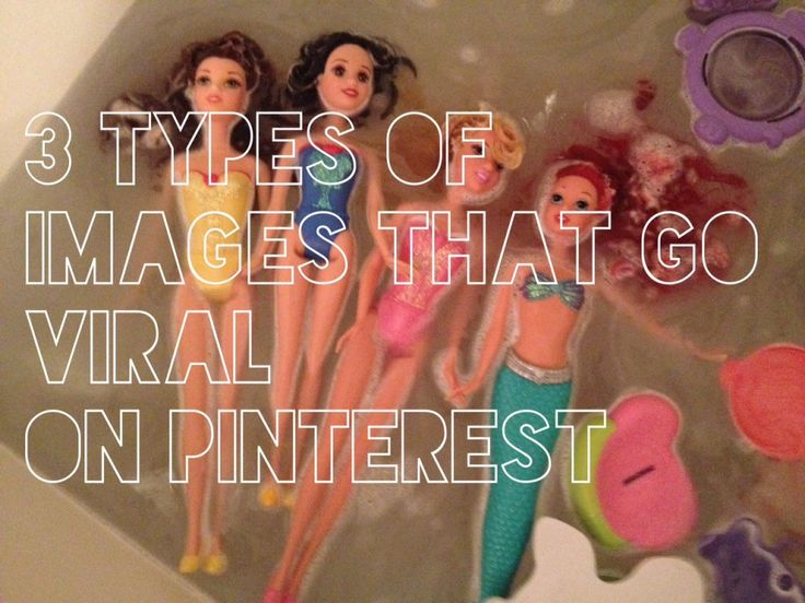 3 Types of Images That Go Viral on Pinterest.  ღ♥Please feel free to repin ♥ღ