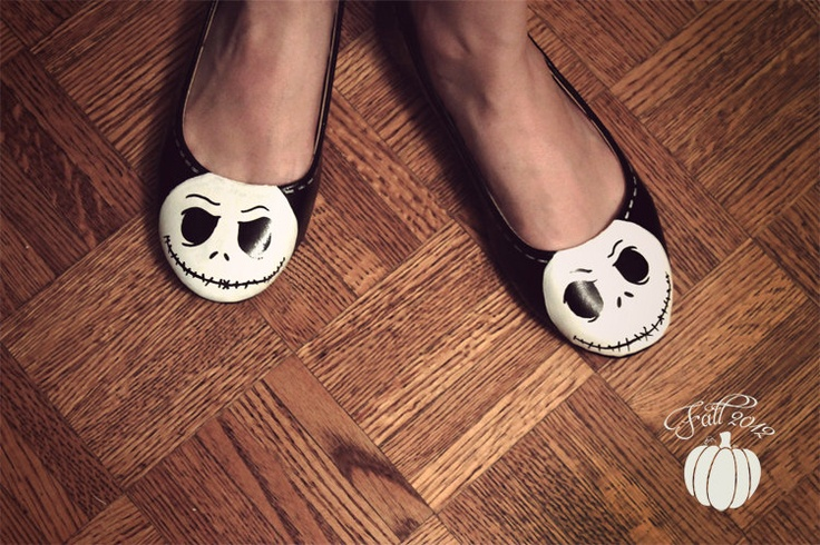 This Fall, offset the gorgeous autumn colours with these dark and sleek skeleton shoes. Inspired by Jack Skellington of The Nightmare Before Christmas, this unique shoe will definitely make a fashion statement. Skeleton Flats. $70.00, via Etsy.