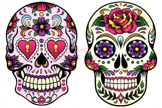 dibujos calaveras mexicanas - Buscar con Google | Catrinas ...