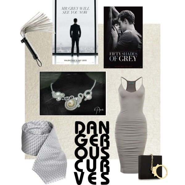 Grey by veronica-papi on Polyvore featuring moda, Designers Guild and Charlotte Olympia