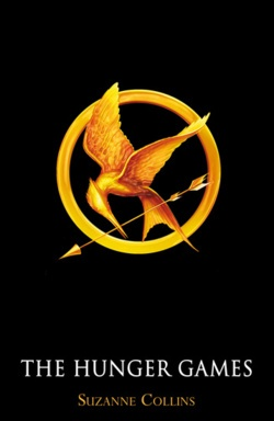 The new adult edition book covers of The Hunger Games.
