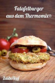 Falafelburger da Thermomix®   – Fast Food aus dem Thermomix® | Burger, Pommes & co.