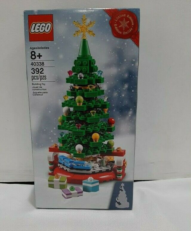Lego 40338 Limited Edition Christmas Tree Exclusive Holiday Promo 392pcs New Lego In 2020 Lego Christmas Tree Lego Christmas Holiday Christmas Tree