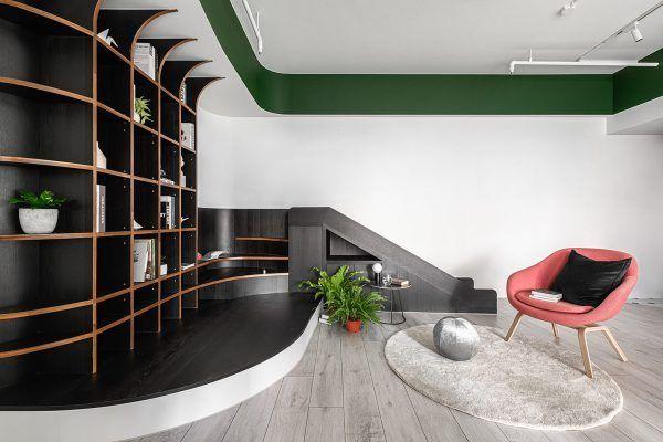 Exploring Green Accent Interiors Minimalist Home Interior House Interior Home Interior Design