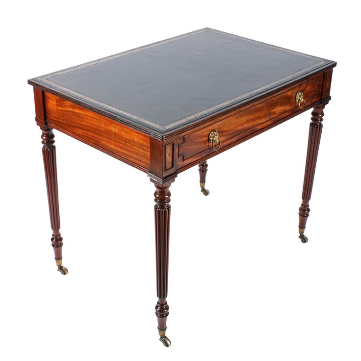 Gillows Mahogany Writing Table