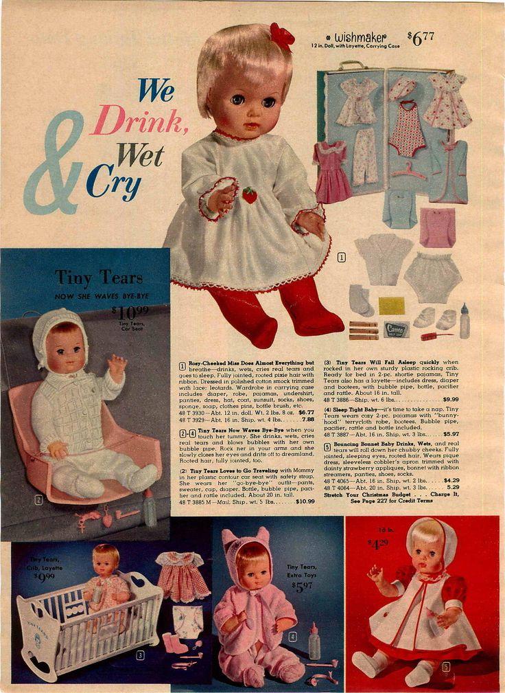 1963 Advertisement Mattel Talking Doll Chatty Cathy Baby Casper Ghost Tiny Tears   eBay