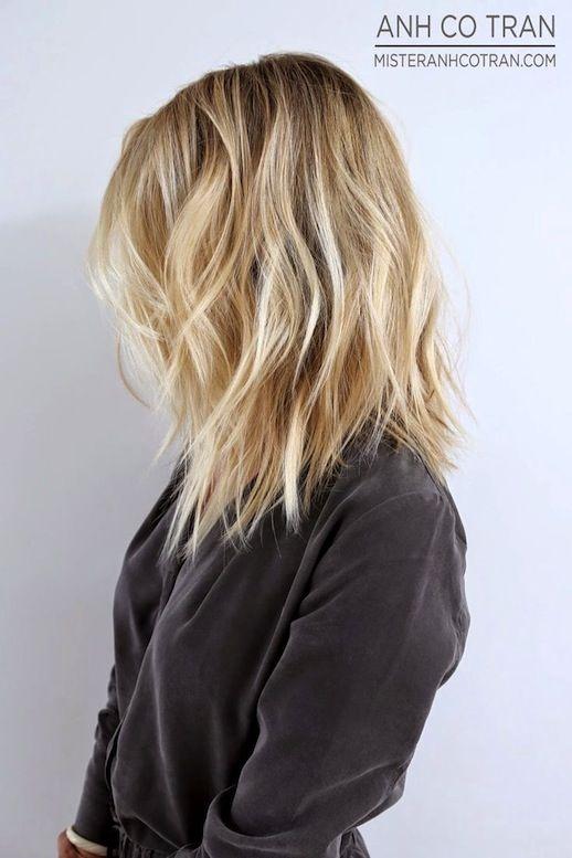 Fantastic 1000 Ideas About Textured Long Bob On Pinterest Textured Lob Short Hairstyles Gunalazisus