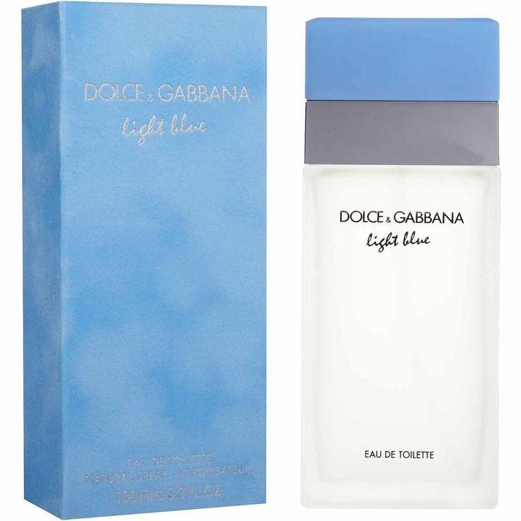 Dolce & Gabanna - Light Blue, perfume super fresco, delicioso, perfeito para nosso clima