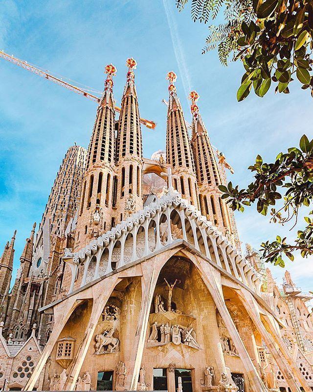Basilica Of The Sagrada Familia Barcelona Spain Travel Spain