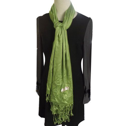 Lady's Pashmina Cotton Scarf 1082 by Barakat. $13.50. Lady's Pashmina Cotton Scarf. THE COMBINATION OF THESE MATERIALS MAKES THE FABRIC VERSATILE, RESILIENT AND RESONATING WITH COLOR. Dry clean only Most versatile accessory. It can be used as a shawl, stole, wrap, scarf, and as an accessory for a fancy evening dress. Dry clean only. The wrap is 70 inches long and 27 inches wide. These scarves are lightweight ,soft and warm. They are perfect for travelling, casual or formal ...