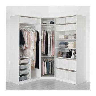 26 wardobe storage ideas for small spaces Ikea wardrobe