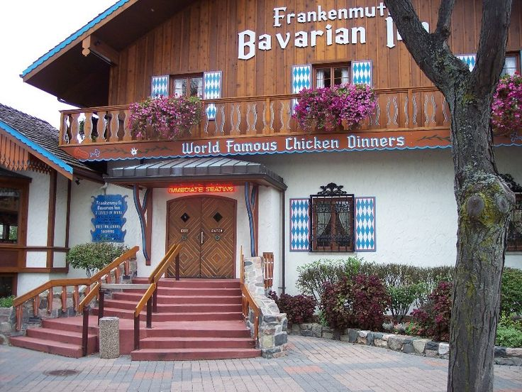 The Bavarian Inn In Frankenmuth Michigan And Their World Famous En