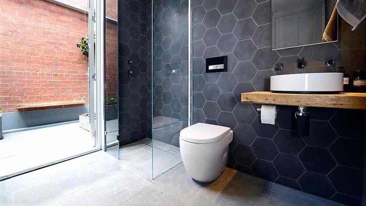 Kyal + Kara's bathroom and terrace | The Block Fans v Faves | Jump-in