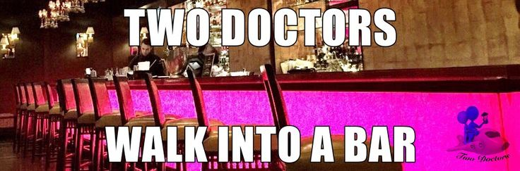 Two Doctors walk into a bar #2: Reflecting on negative reflections!