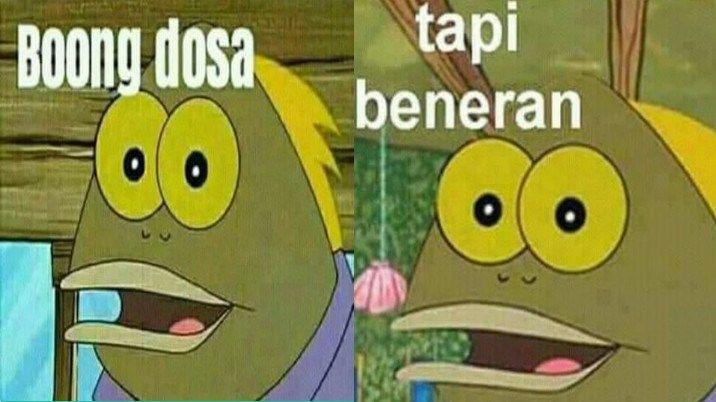 Stiker Wa Tapi Bohong Spongebob Bacot Untuk Android Dengan Gambar