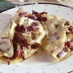 Crespelle con radicchio, carciofi e scamorza affumicata 10 ricette con il radicchio - Ricetta | Donna Moderna