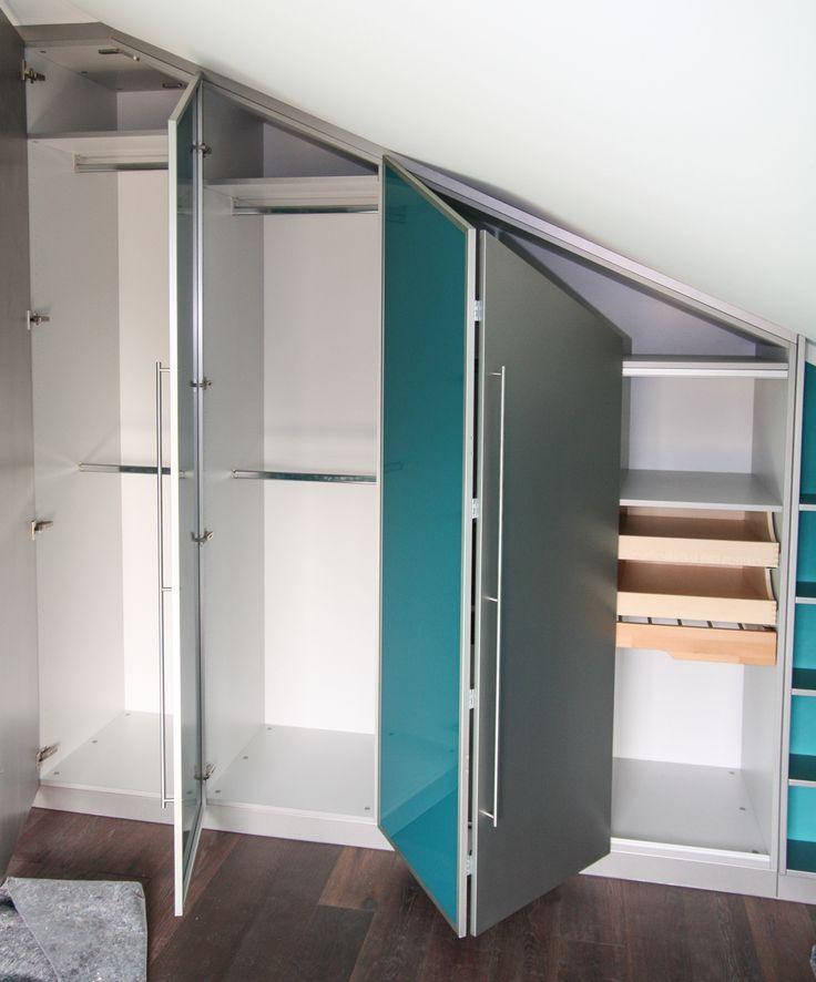 die besten 17 ideen zu einbauschrank dachschr ge auf pinterest wandschublade mansarde und. Black Bedroom Furniture Sets. Home Design Ideas