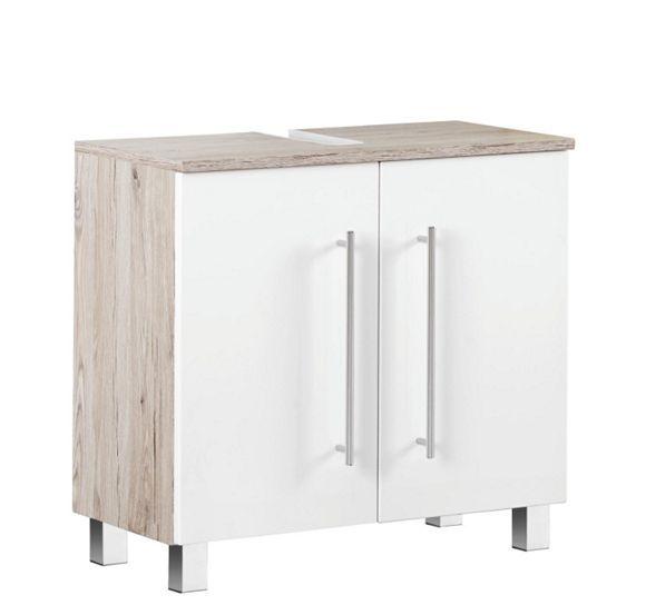 Simple Dieser Waschbeckenunterschrank ist das ger umige Extra f r Ihr Badezimmer Hier finden Handt cher oder der F hn
