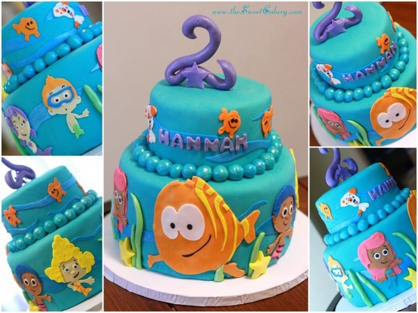 bubble guppies cake #sweet
