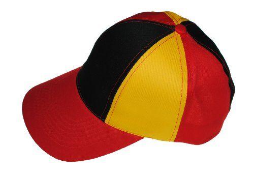 Immerschön Cap Deutschland Uni-Größe Basecap WM EM Olympia Fußball Mütze Schirmmütze Fan Fanmeile Fanartikel