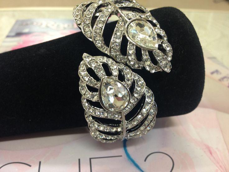 Vintage Style Crystal Cuff Bracelet