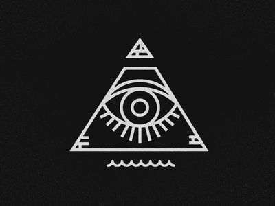 Dribbble - All Seeing Eye by Jeremy Vessey                                                                                                                                                                                 More