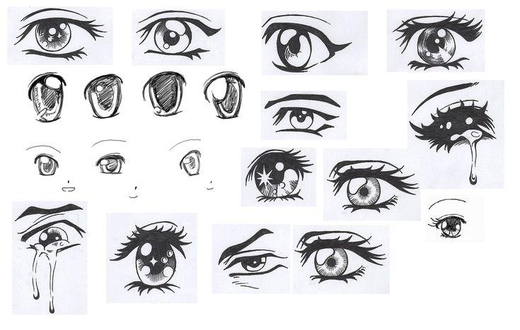 occhi manga