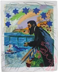 Ben Jaakob ( Theodor) Herzl (1860-1904)   Menashe Kadisman (1932-2015)