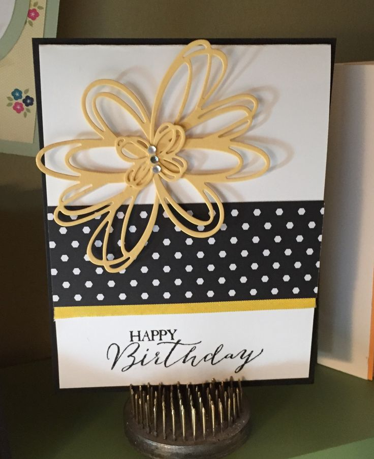 Stampin Up Sunshine Sayings Birthday Card
