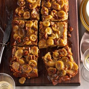 Bananas Foster Baked French Toast Recipe from Taste of Home