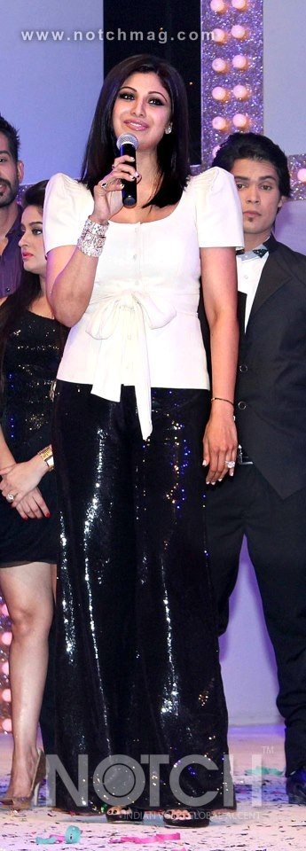 At the launch of a dance reality show, Shilpa Shetty got grooving with Sajid Khan and Terence Lewis much to the delight of the audience. The trio are looking forward to being the judges of the show.