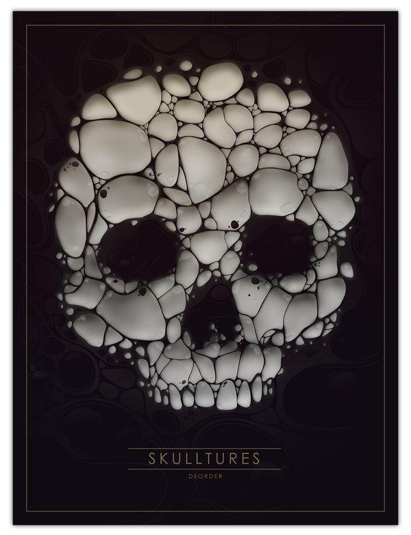 Skulltures by DSORDER - Skullspiration.com - skull designs, art, fashion and more