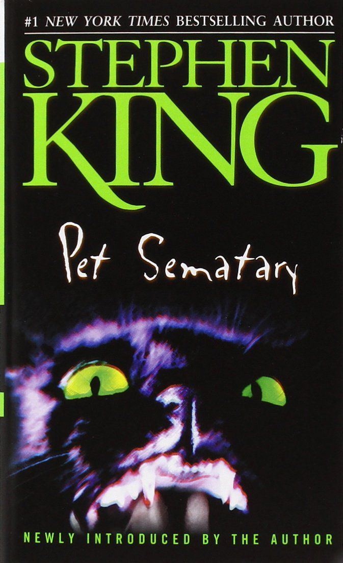 Pet Sematary - Stephen King  When the Creeds move into a beautiful old house in rural Maine, it all seems too good to be true. As a family, they've got it all, right down to the friendly cat. But the woods nearby hide a chilling truth....
