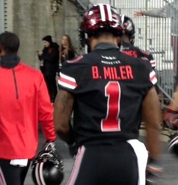 Photo: Braxton Miller's Name Is Spelled Wrong On His New Black Ohio State Jersey | College Spun