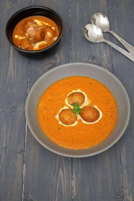 malai kofta recipe with step by step photos - deep fried paneer-potato balls in smooth, cream onion-tomato gravy. This is Restaurant style.
