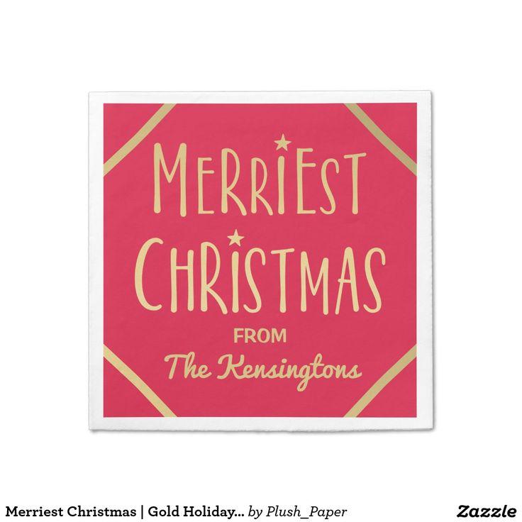 1314 best Custom CHRISTMAS Paper Napkins images on Pinterest ...
