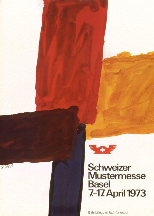 Hans P. Schaad, Schweizer Mustermesse Basel, 1973