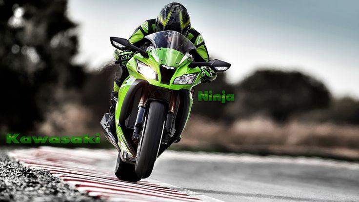 Kawasaki Ninja Green Sports Bike Wallpaper  httpwww