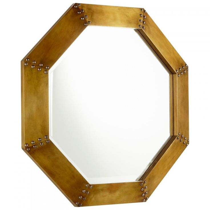 Large Octagon Mirror : 09129 | Brechers Lighting