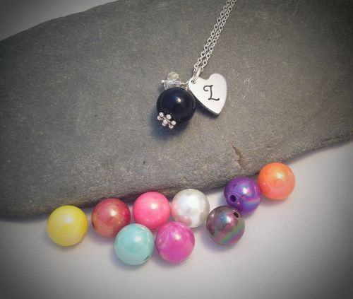 Elegant Pearl Pendant. Simple yet effective. Would be great coordinating bridesmaids or just different outfits!